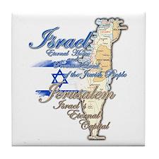 Israel, Jerusalem - Tile Coaster