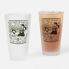 Necrophilia Drinking Glass