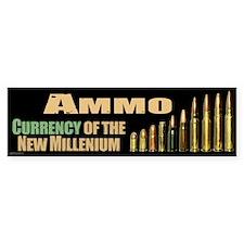 Ammo: Currency Millenium Car Sticker