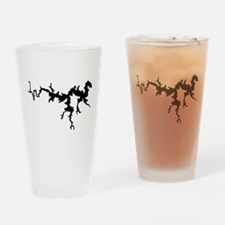 DRAGON {1 black} solid Drinking Glass