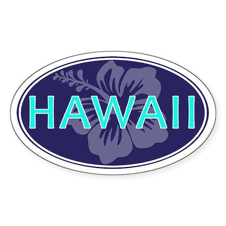 HAWAII - Sticker (Oval)