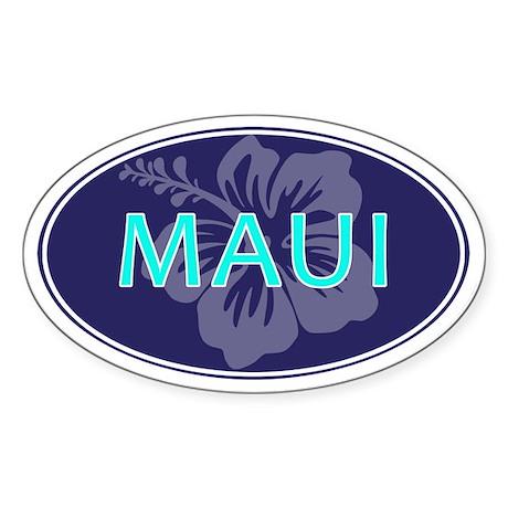 MAUI - Sticker (Oval)