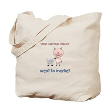 Piggy Went Market Tote Bag