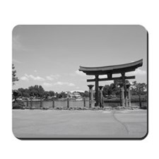 BW Torii at the Lagoon Mousepad