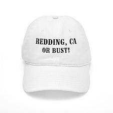 Redding or Bust! Baseball Cap
