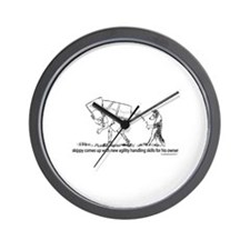 Senior Agility Handler Wall Clock