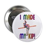 Gymnast button 10 Pack