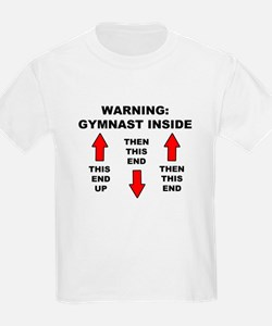 Gymnast End Up T-Shirt