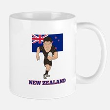 rugby new zealand Mug