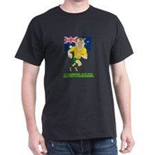 Rugby Player Australia T-Shirt