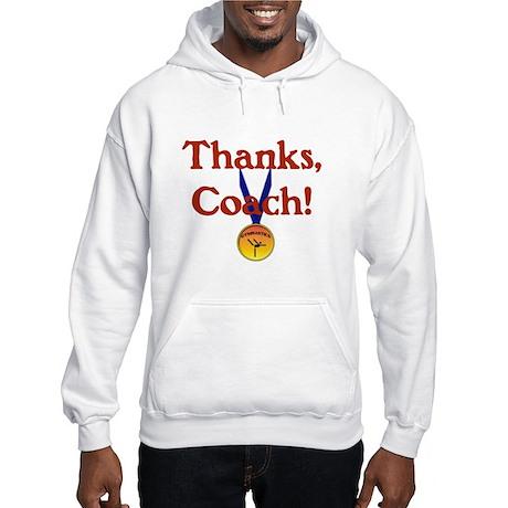 Gymnastics Coach Hooded Sweatshirt