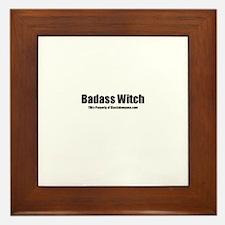 Badass Witch(TM) Framed Tile