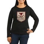 In Vino Veritas Women's Long Sleeve Dark T-Shirt