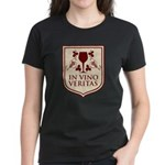 In Vino Veritas Women's Dark T-Shirt