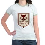 In Vino Veritas Jr. Ringer T-Shirt