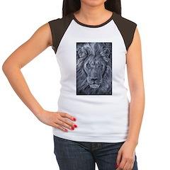 Bold Lion Women's Cap Sleeve T-Shirt