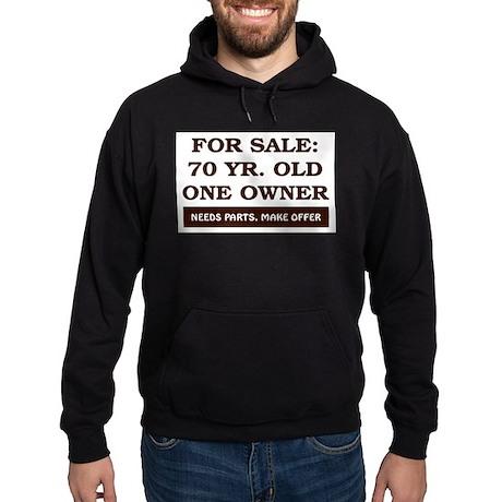 For Sale 70 Year Old Birthday Hoodie (dark)