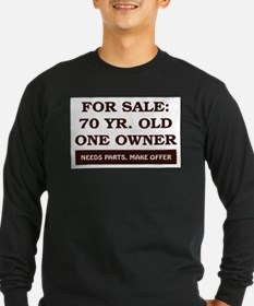 For Sale 70 Year Old Birthday T