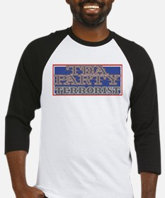 TEA Party Terrorist Baseball Jersey