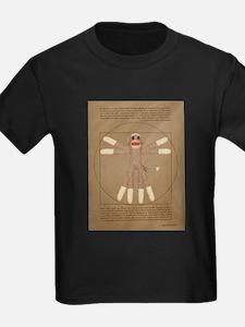 Vitruvian Sock Monkey T