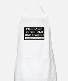 For Sale 70 Year Old Birthday Apron