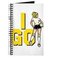 I Go! Volleyball Journal