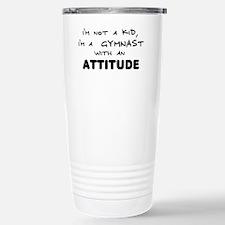 Gymnast with Attitude Stainless Steel Travel Mug