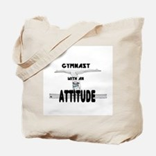 Gymnast with an Attitude Tote Bag