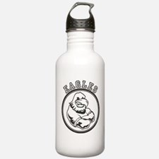 Eagles Team Mascot Graphic Water Bottle