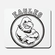 Eagles Team Mascot Graphic Mousepad