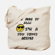 Funny Tow truck Tote Bag
