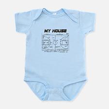 Basketball House Infant Bodysuit