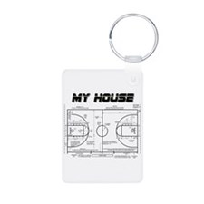 Basketball House Keychains