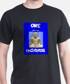 One with Universe Black T-Shirt