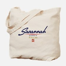 Savannah Script Tote Bag