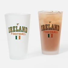 Ireland Football/Soccer Drinking Glass