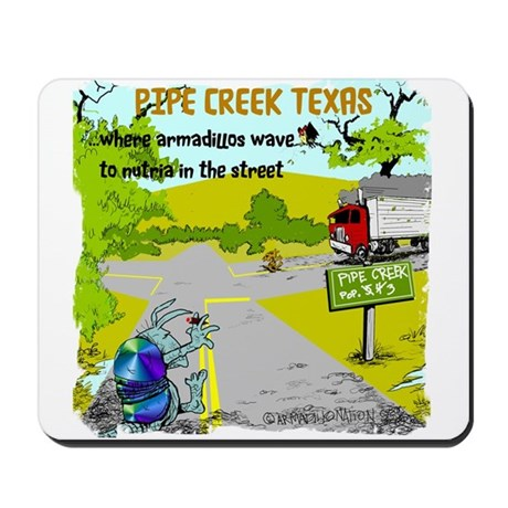 Pipe Creek Texas Mousepad