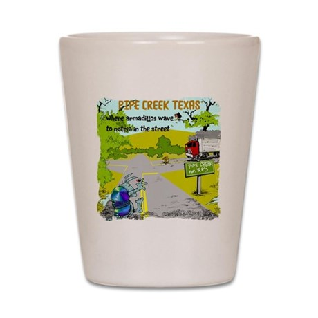 Pipe Creek Texas Shot Glass