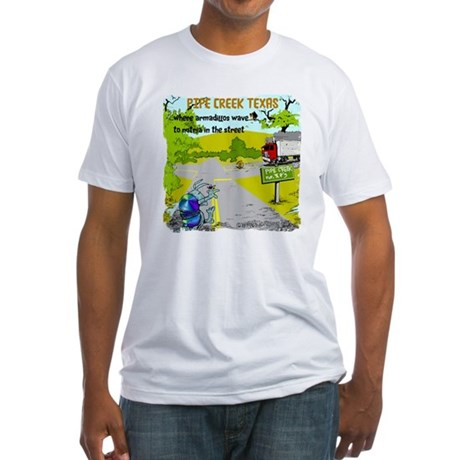 Pipe Creek Texas Fitted T-Shirt