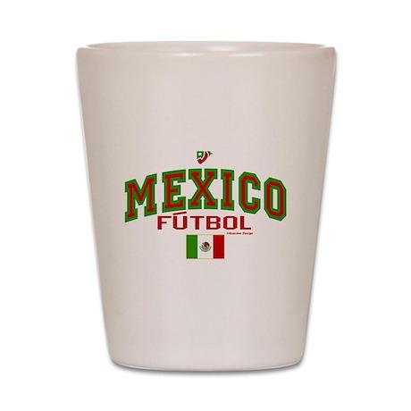 Mexico Futbol/Soccer Shot Glass