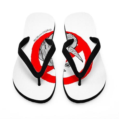 No RINO Zone Flip Flops