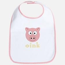 Animal Noises - Pig Oink Bib