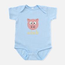 Animal Noises - Pig Oink Infant Bodysuit