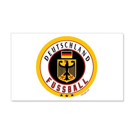 Deutschland Fussball Soccer 22x14 Wall Peel