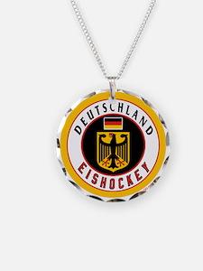 Germany Hockey(Deutschland) Necklace