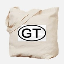 GT - Initial Oval Tote Bag