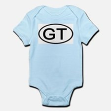 GT - Initial Oval Infant Creeper