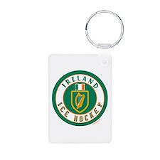 IE Ireland(Eire/Erin) Hockey Keychains