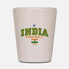 IN India Indian Cricket Shot Glass