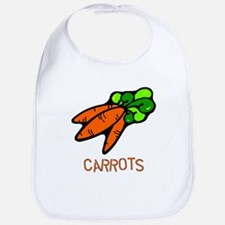 Twin Set -- Carrots Bib
